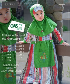 GAMIS ANAK SPECIAL GAS 02